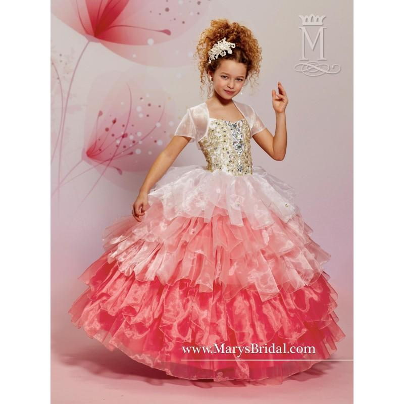 Wedding - Marys Flower Girl Dresses - Style F15-F499 - Formal Day Dresses