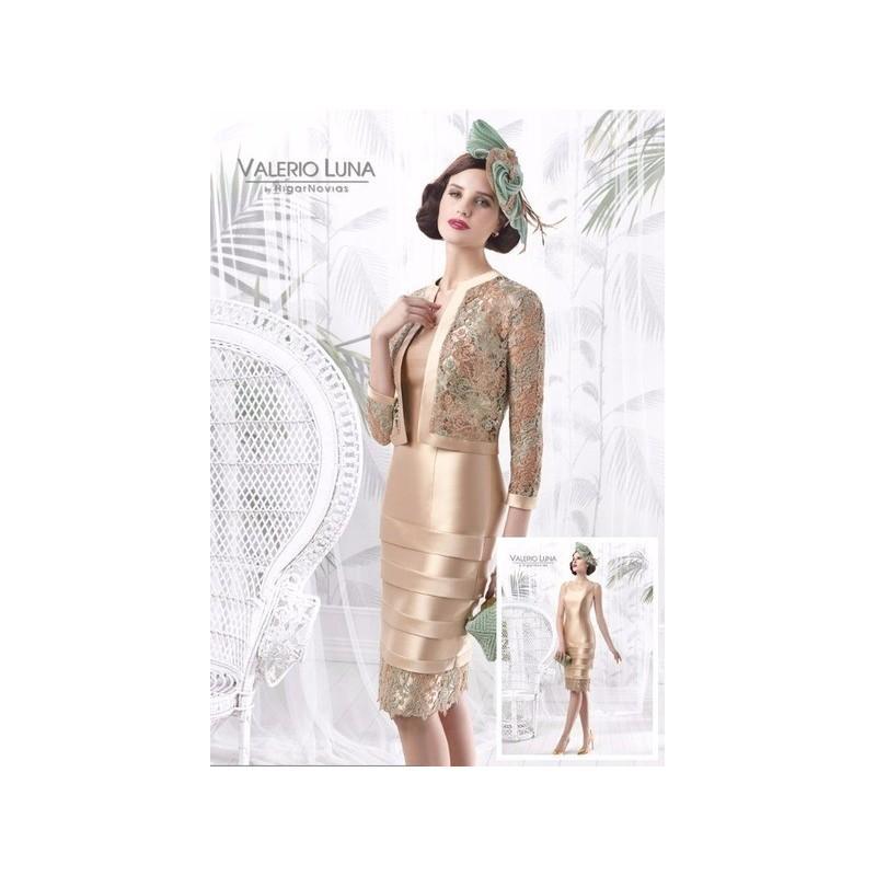 Wedding - Vestido de fiesta de Valerio Luna Modelo VL4644 - 2016 Vestido - Tienda nupcial con estilo del cordón