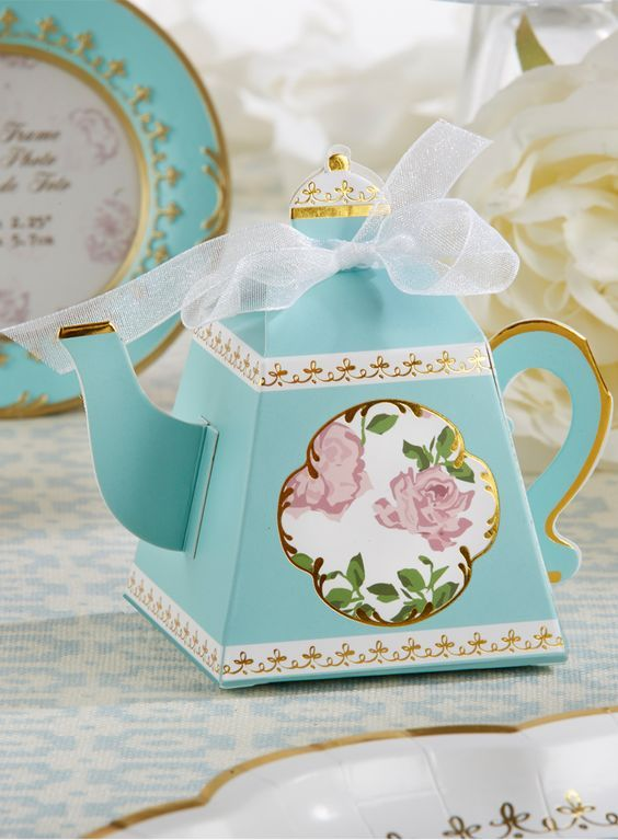 Свадьба - Tea Time Whimsy Teapot Favor Box (Set Of 24)