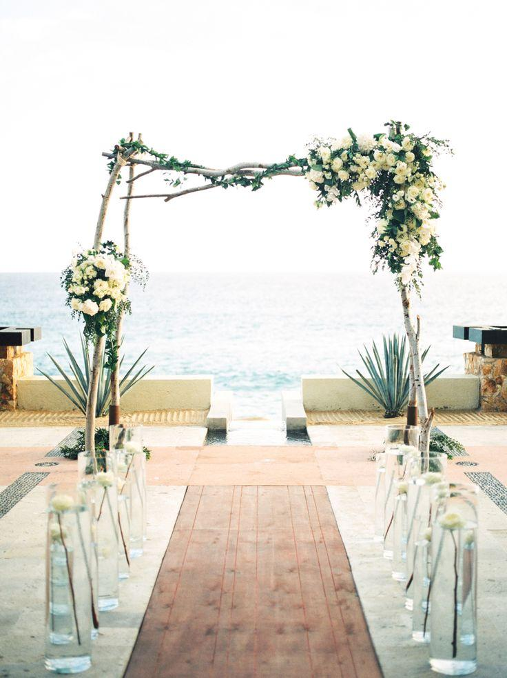 Свадьба - A Cabo Wedding Designed For The Modern Bride