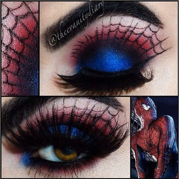 Mariage - Spiderman Inspired Makeup