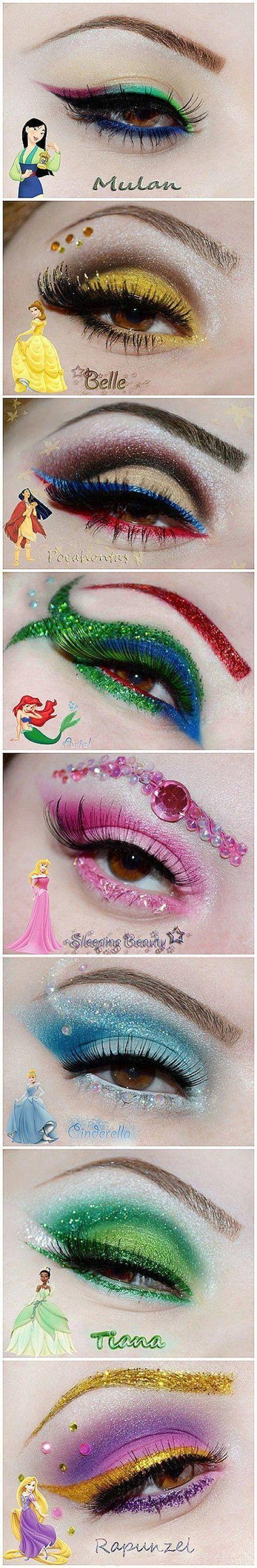 Свадьба - Disney Makeup Idea