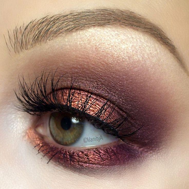 Свадьба - Metallic Fall Makeup