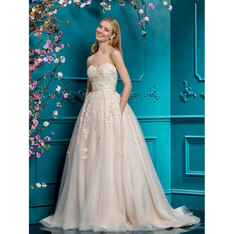 Свадьба - Ellis Bridal 2018 Blush Ballgown