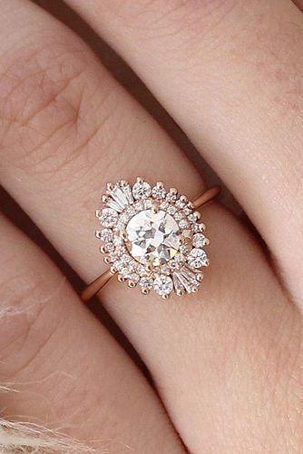 Wedding - 24 Vintage Engagement Rings With Stunning Details