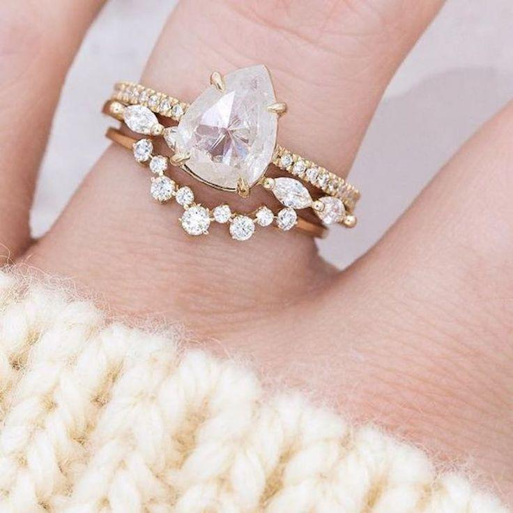 Wedding - 33 Unique Engagement Rings Brides Are Pinning Like Crazy