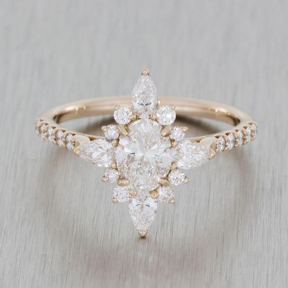 Свадьба - The 13 Most Popular Engagement Rings On Pinterest