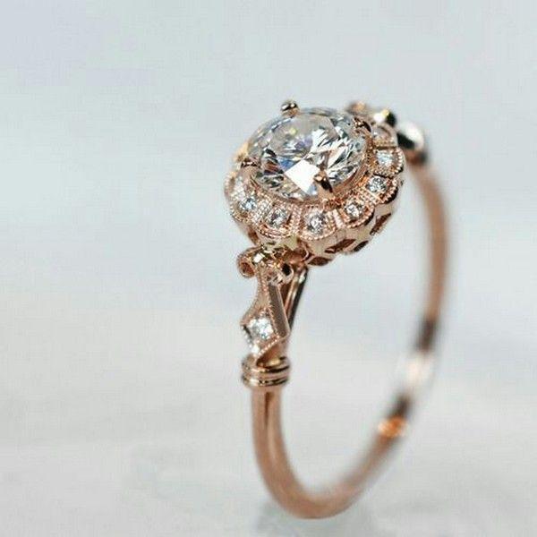 Свадьба - 18 Brilliant Vintage Wedding Engagement Rings - Page 3 Of 3