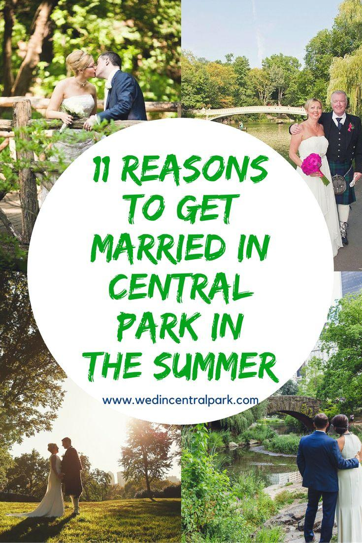 Wedding - Eleven Reasons To Get Married In Central Park In The Summer