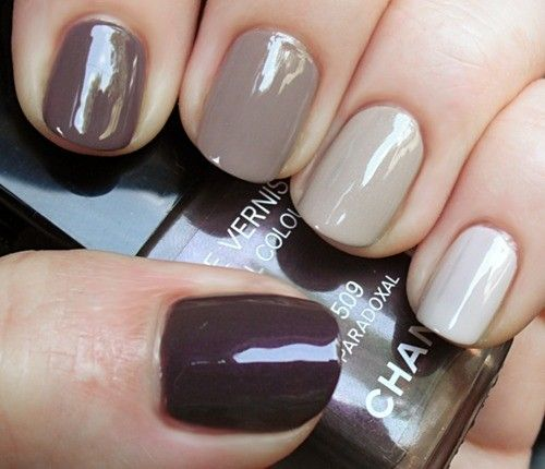 Свадьба - Nude Ombre Nails