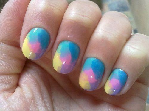 Свадьба - Colorful Nail Art