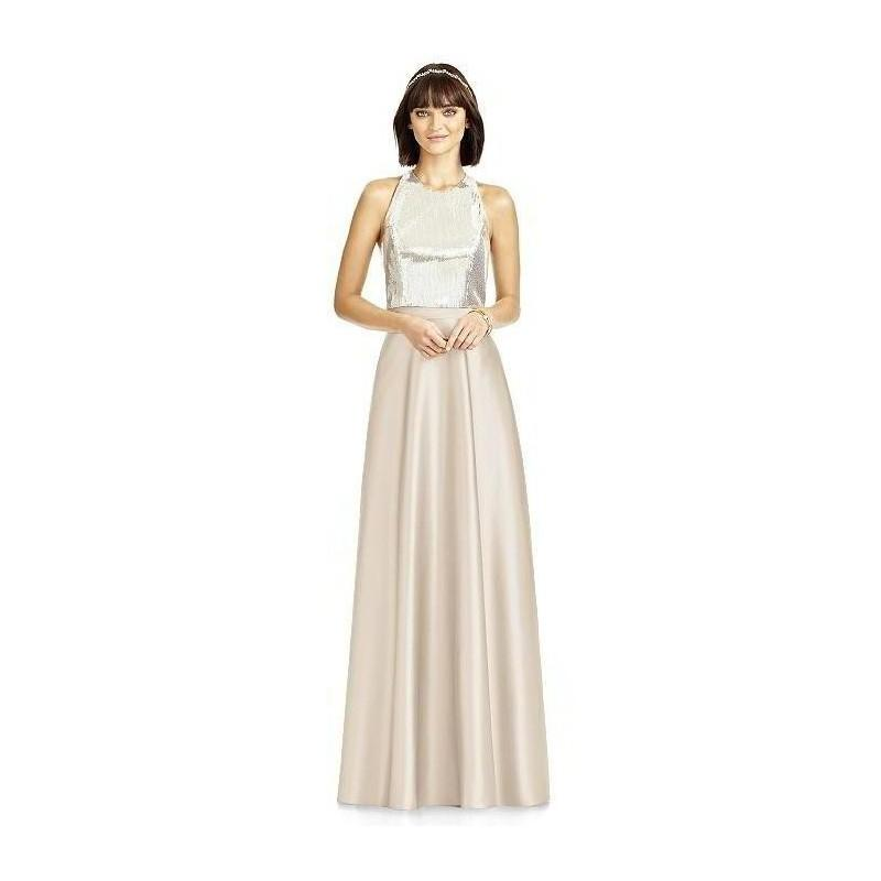 Wedding - Dessy Collection S2976 Matte Satin Skirt Bridesmaid Separates - Crazy Sale Bridal Dresses