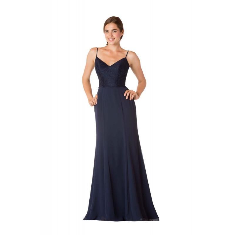 Wedding - Bari Jay 1731 Chiffon Bridesmaid Dress with Lace Bodice - Brand Prom Dresses