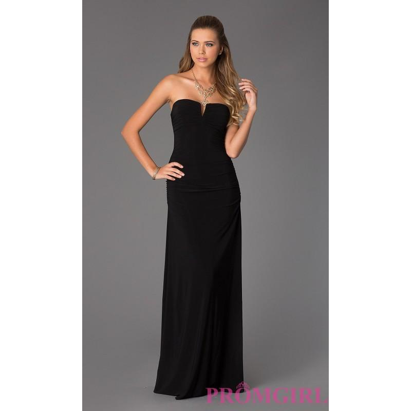 Hailey Logan Ruched Strapless Gown For Prom - Brand Prom Dresses ...