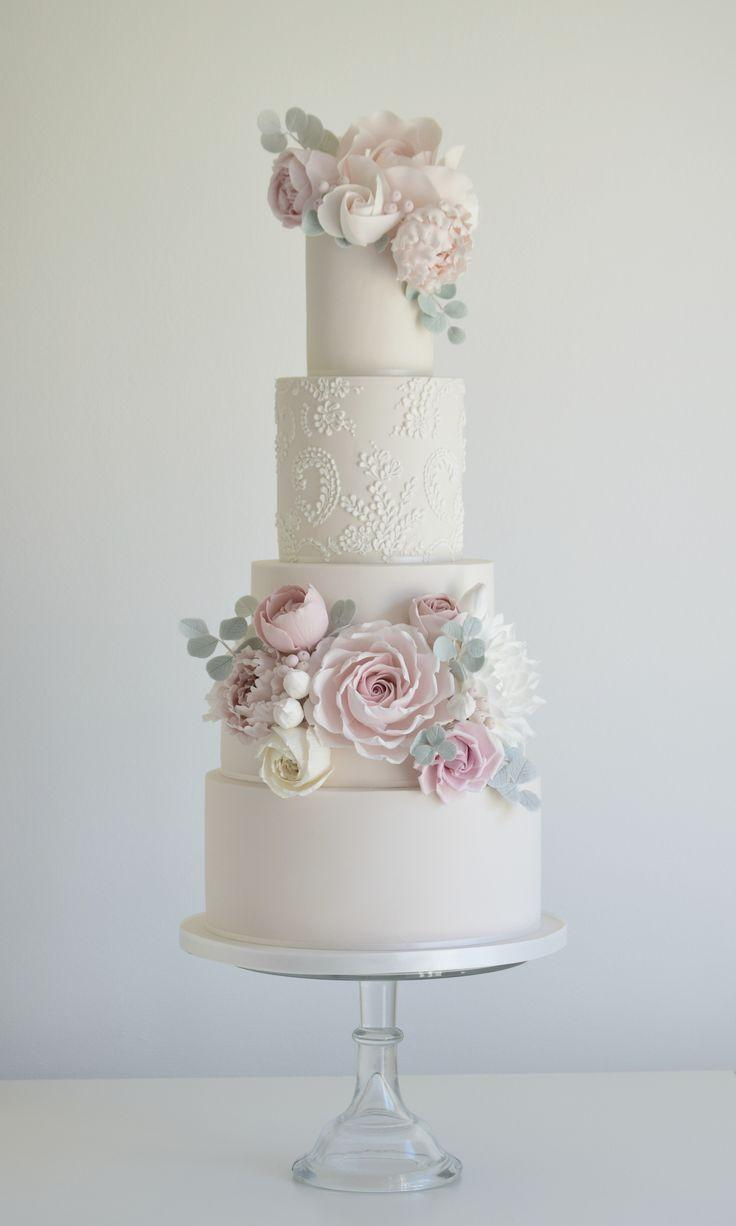 Mariage - Tall Wedding Cake