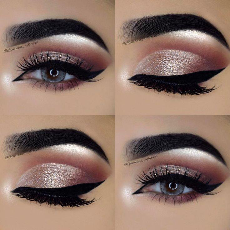 Wedding - Shimmery Eye Makeup