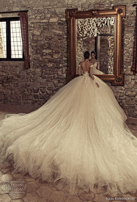 Tulle Bridal Dresses Sexy Wedding Gowns