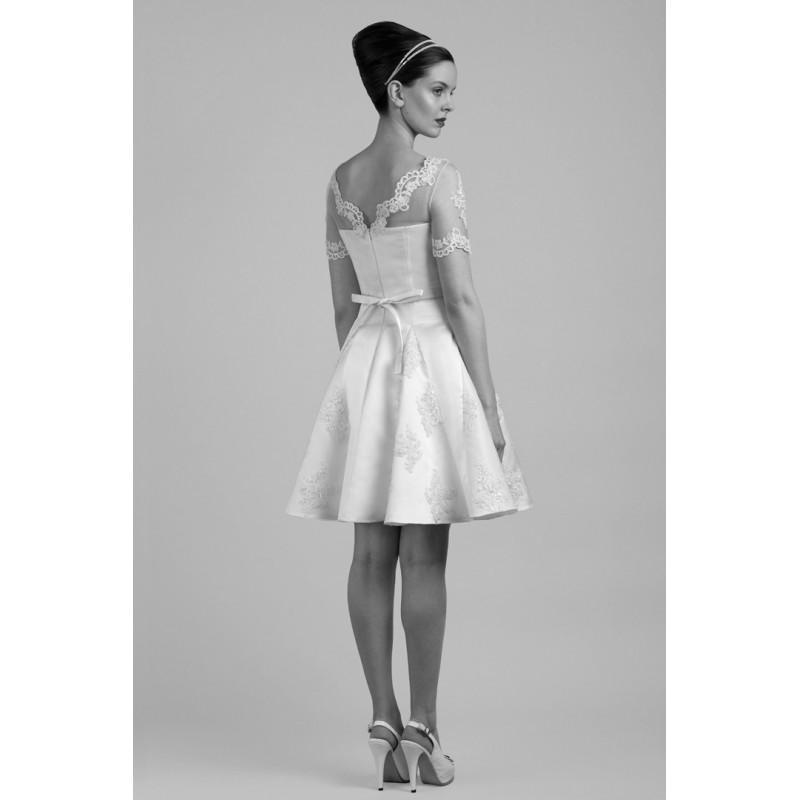 d236fe1bd34 Tobi Hannah Carter Short Wedding Dress - Designer Wedding Dresses ...