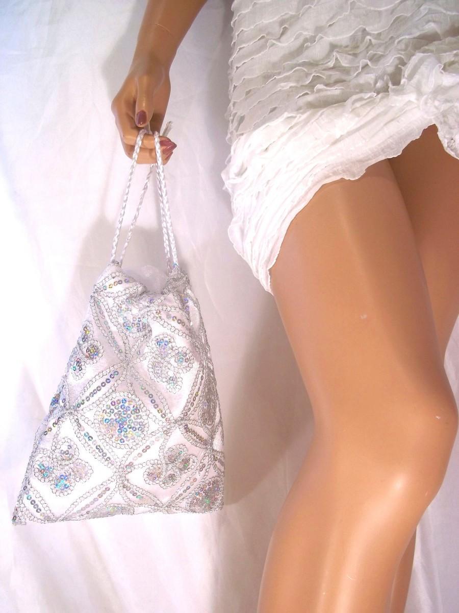 Mariage - Bride Handbag, Evening Purse, Party Handbag, Prom Bag, Handbag, Bride Money HandBag, Formal Occasion Purse, Wedding Handbag, Luxury Bag - $36.99 USD