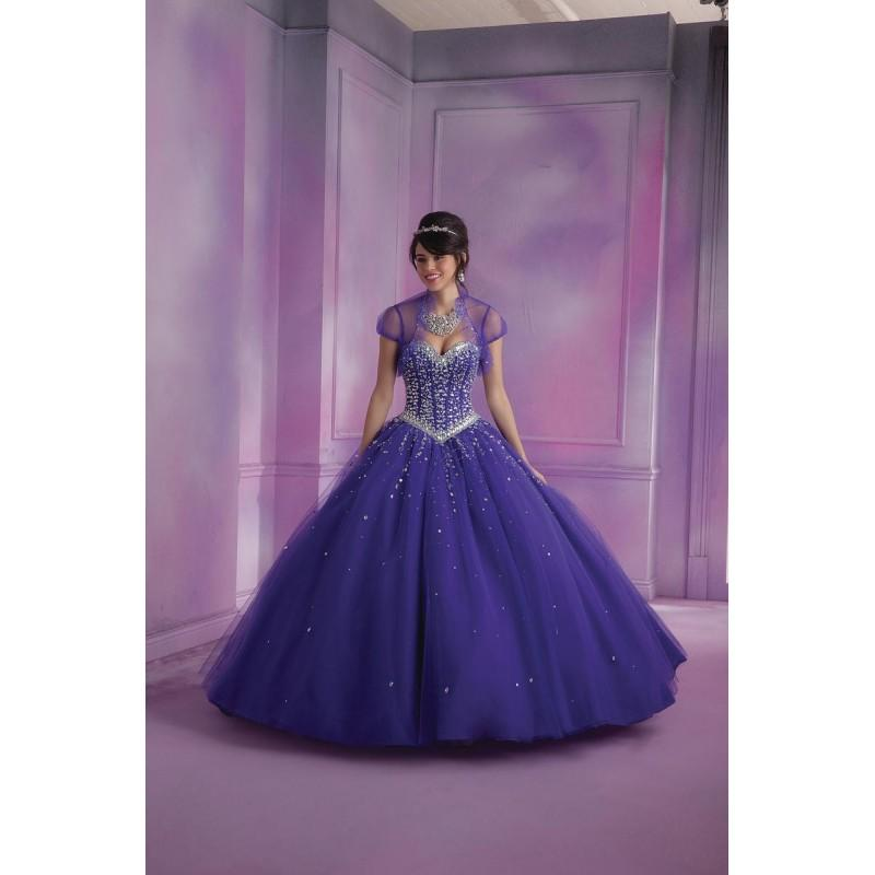Wedding - Deep Purple Sugarplum Vizcaya by Mori Lee 89012 Vizcaya Quinceanera by Morilee - Top Design Dress Online Shop