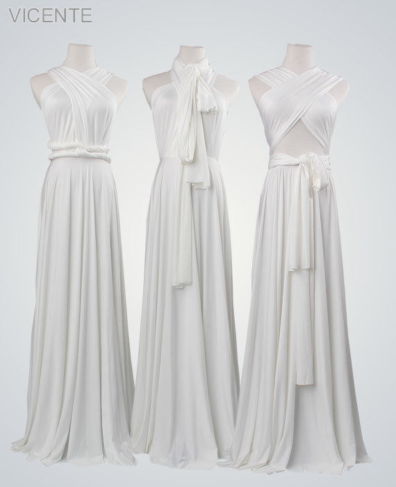 70ef6db58c5 Pure White Long Dress