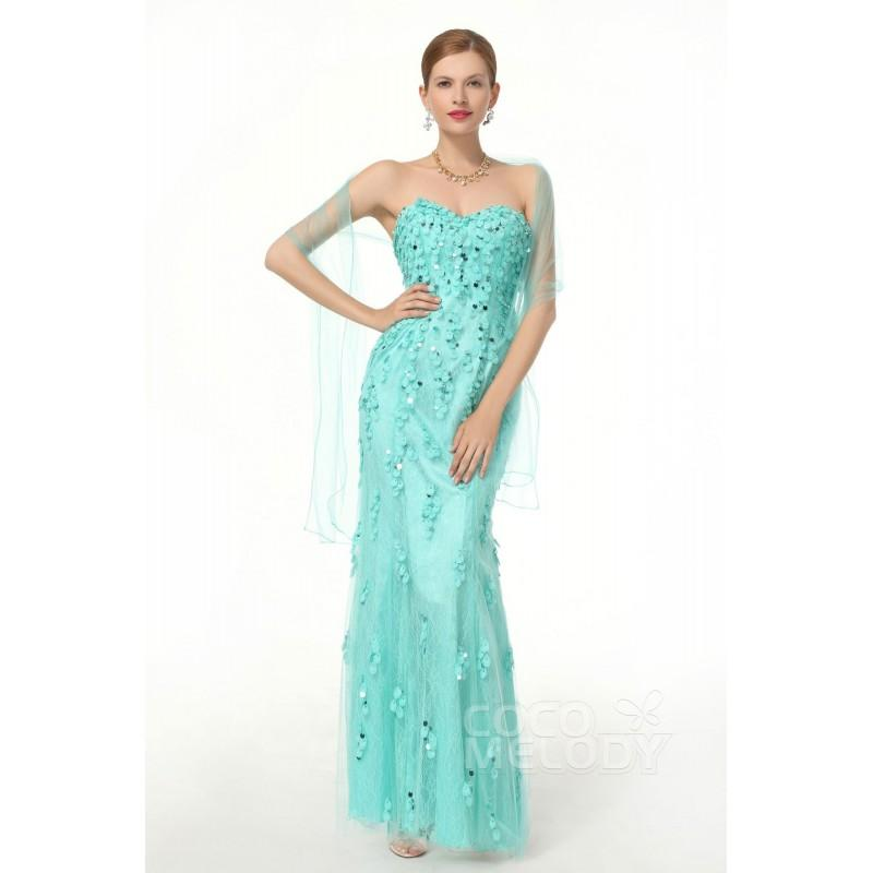 Sheath Column Sweetheart Evening Dress