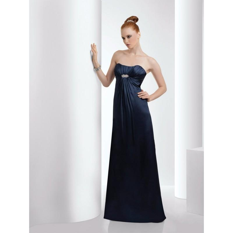 Mariage - Navy Bari Jay 923-M Bari Jay Bridesmaids - Rich Your Wedding Day