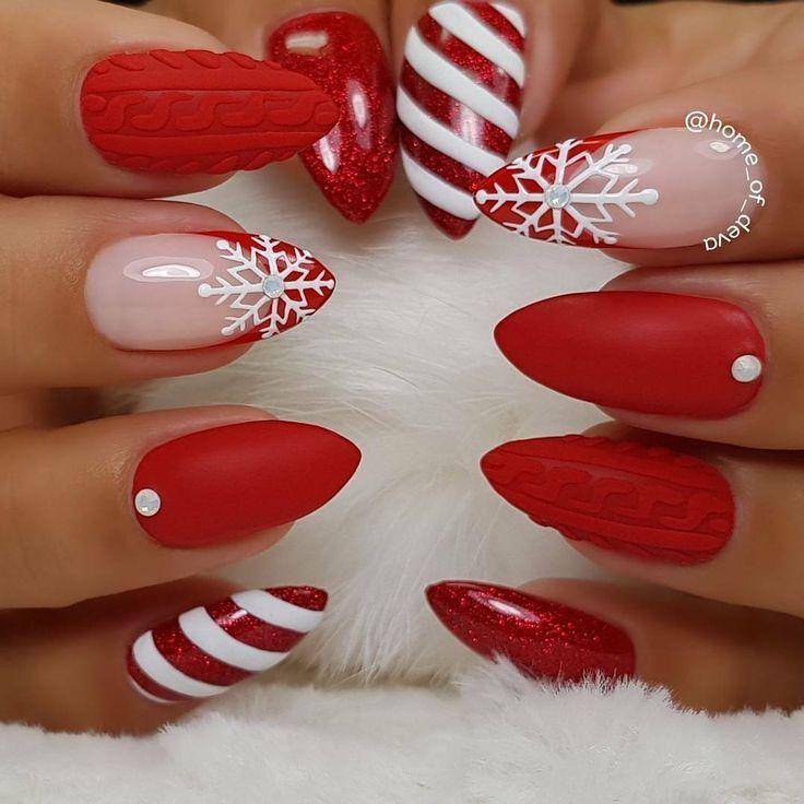 Mariage - Christmas Nail Art