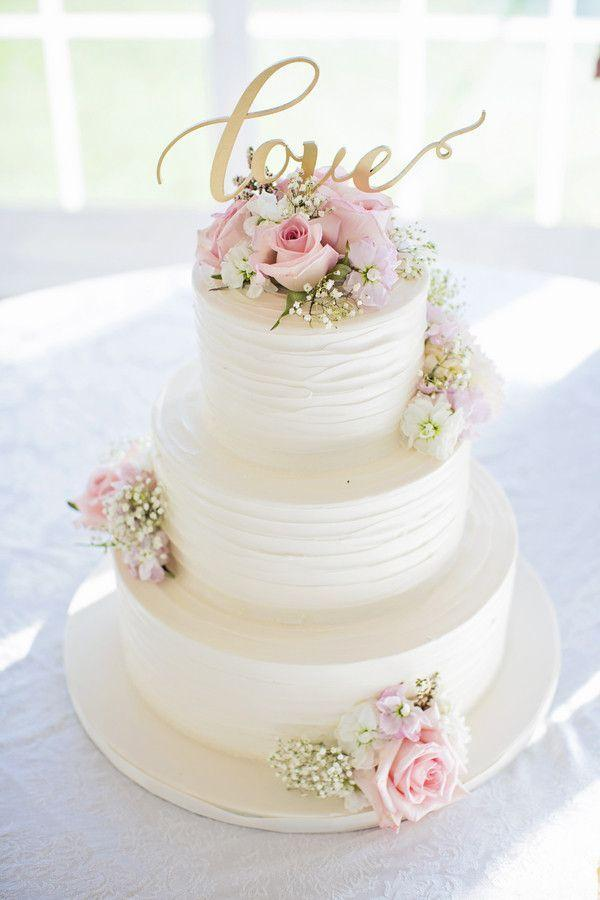 Wedding - Buttercream Wedding Cake