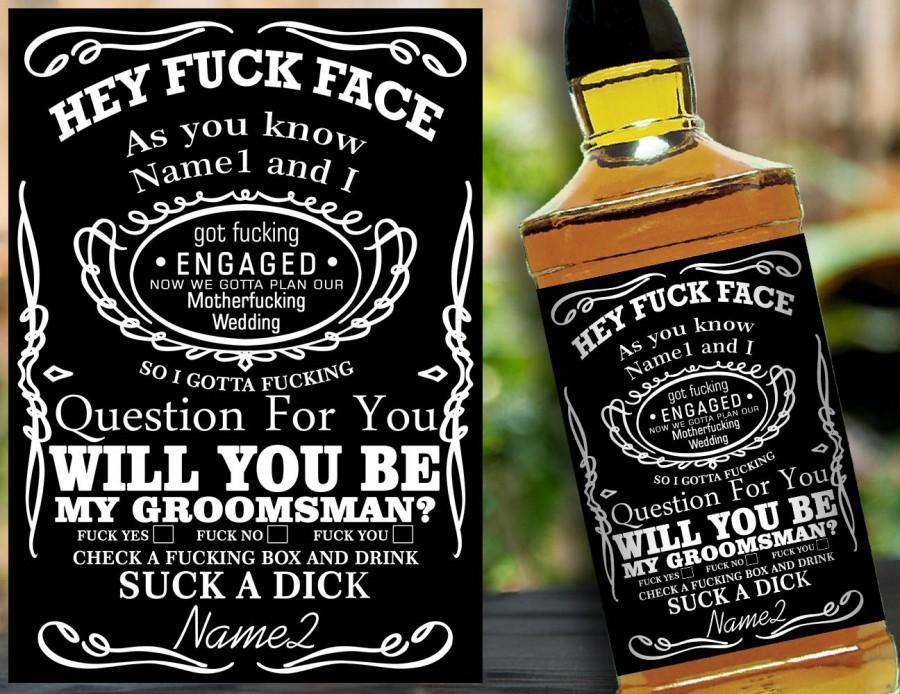 Will You Be My Groomsman Groomsman Proposal Groomsmen Proposal