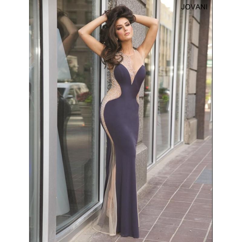 Mariage - Charcoal Jovani Prom 22761 - Brand Wedding Store Online