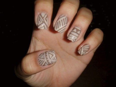 Boda - Brown Nail Art