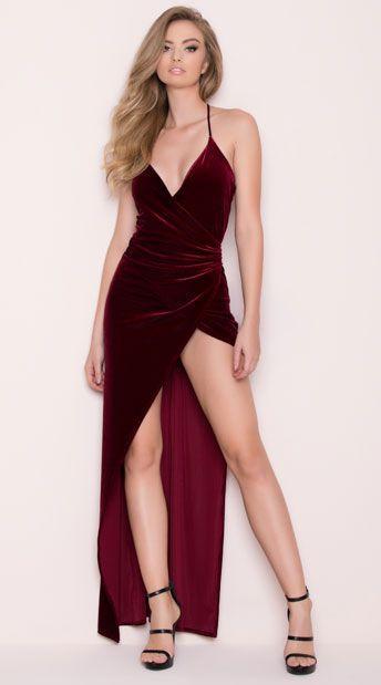 Düğün - Classic Velvet Dress