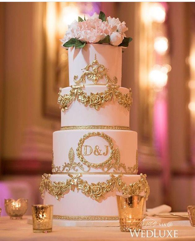 Wedding - Cake With Initials