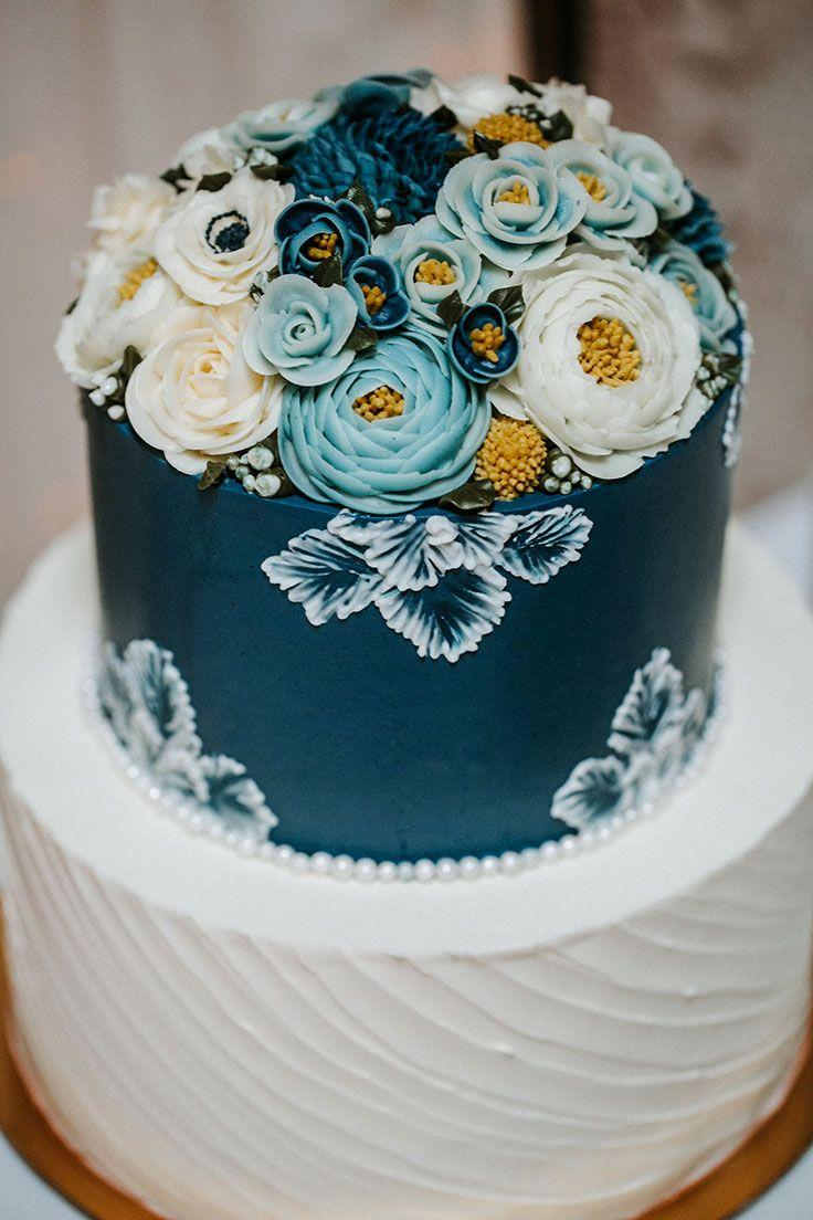Wedding - Elegant Wedding Event Inspired By Cyanotype Blues