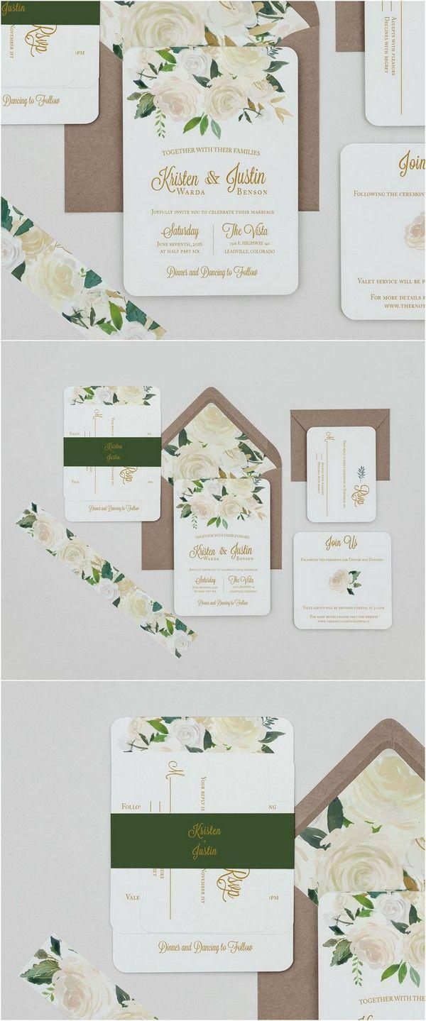 Top 10 Wedding Invitations We Love From ETSY For 2018 #2802838 ...