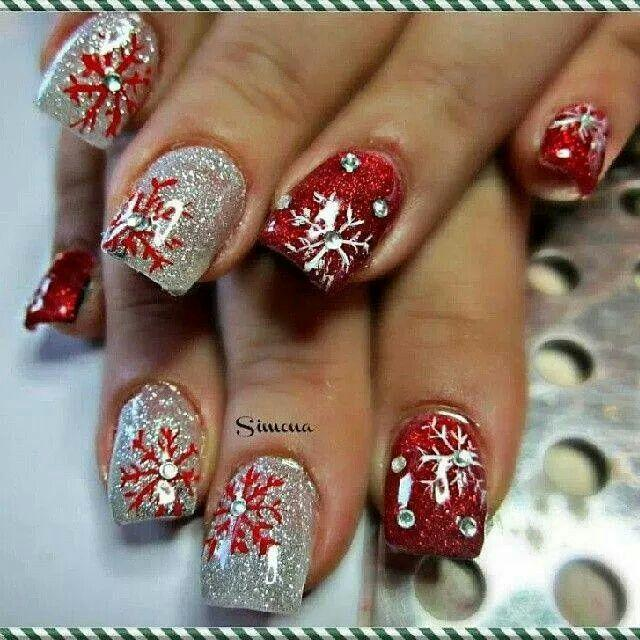 Свадьба - Holiday Nail Art