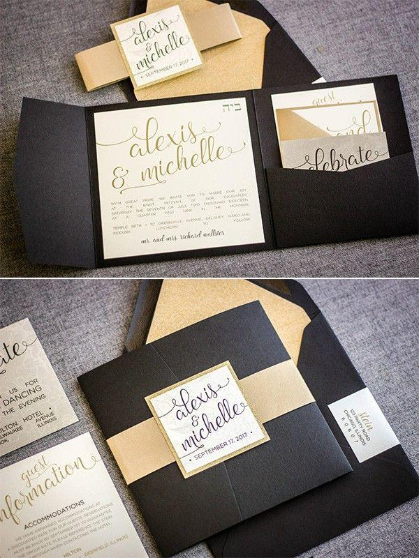 Wedding - Top 10 Wedding Invitations We Love From ETSY For 2018