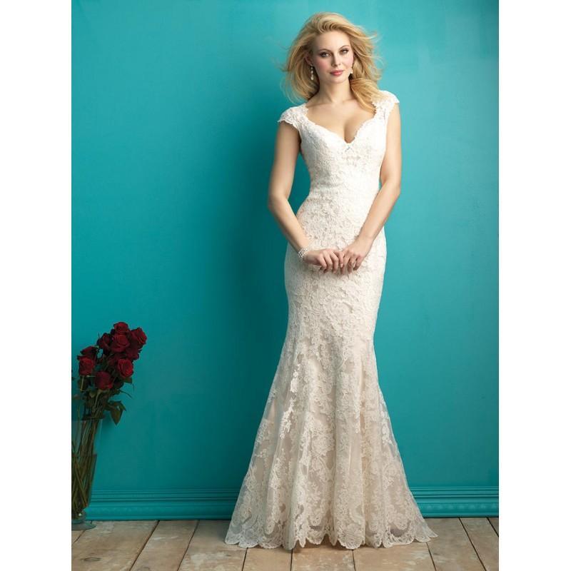 Mariage - Ivory Allure Bridals 9264 Allure Bridal - Rich Your Wedding Day