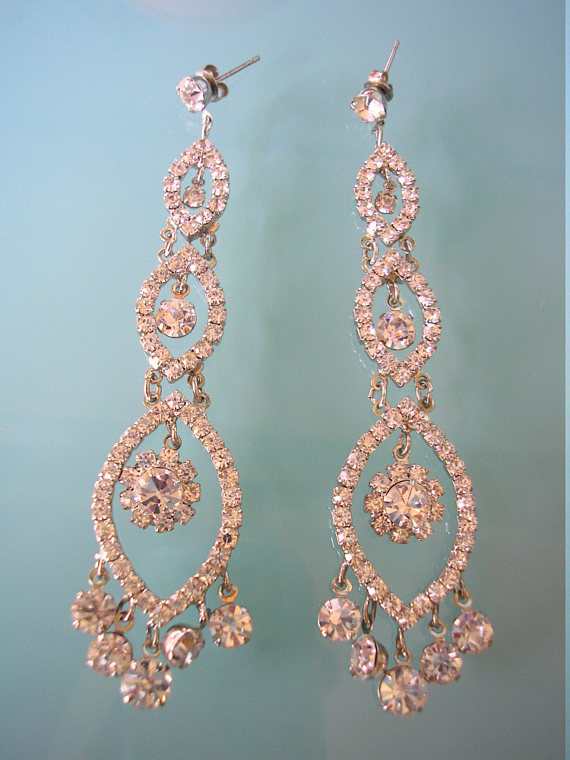 Mariage - Chandelier Earrings