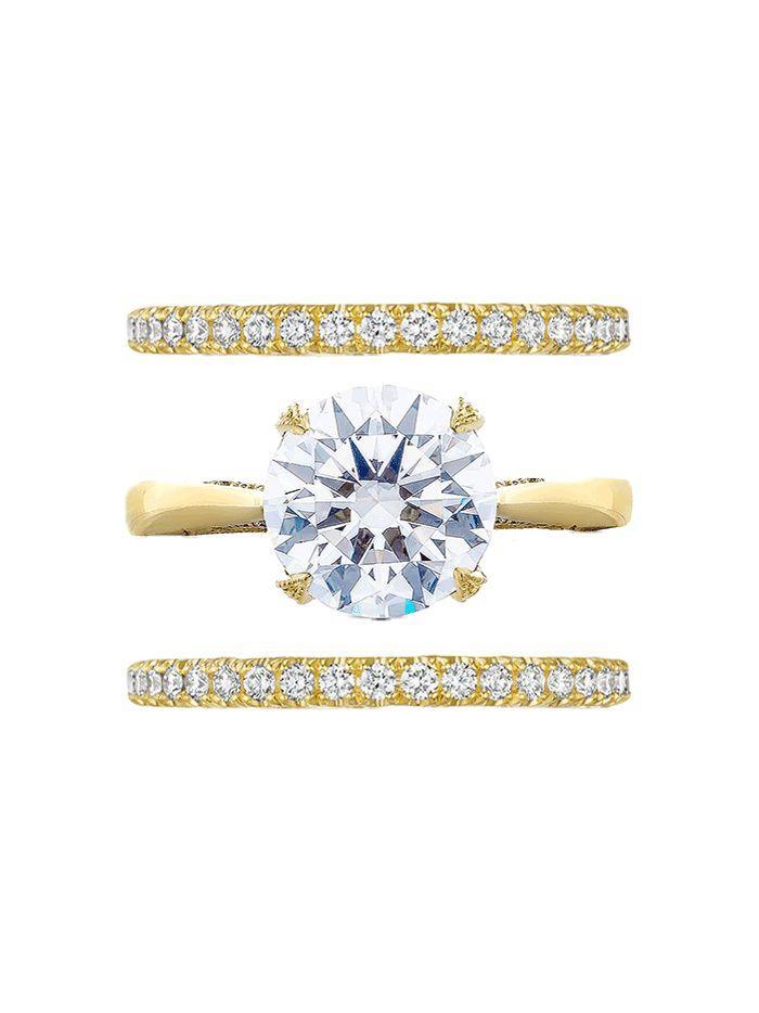 Wedding - The 5 Best Engagement Ring–and–Wedding Band Combos
