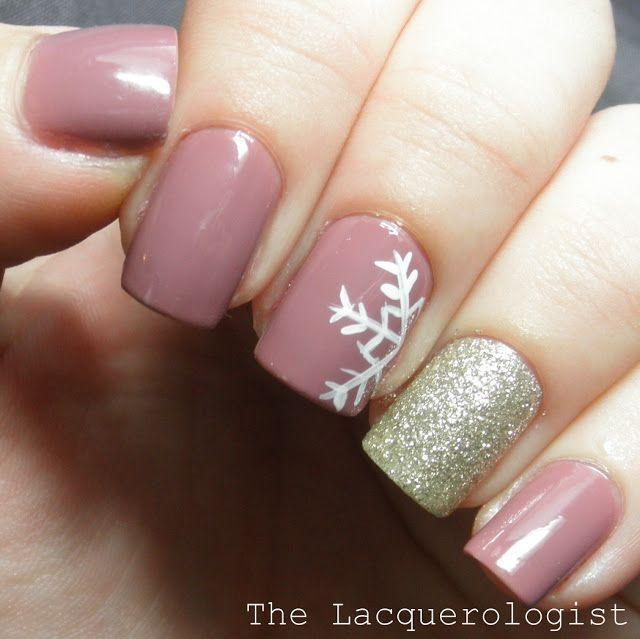 Wedding - 30 Festive Christmas Acrylic Nail Designs