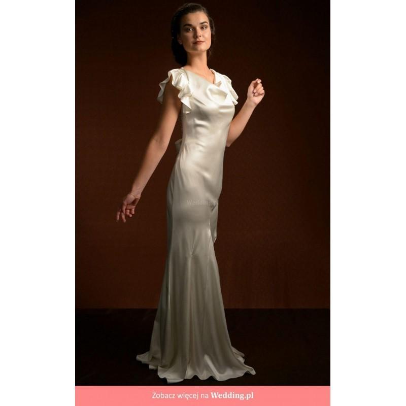 زفاف - La Po茅sie - Elise 2014 Floor Length Other Straight Short sleeve Short - Formal Bridesmaid Dresses 2017