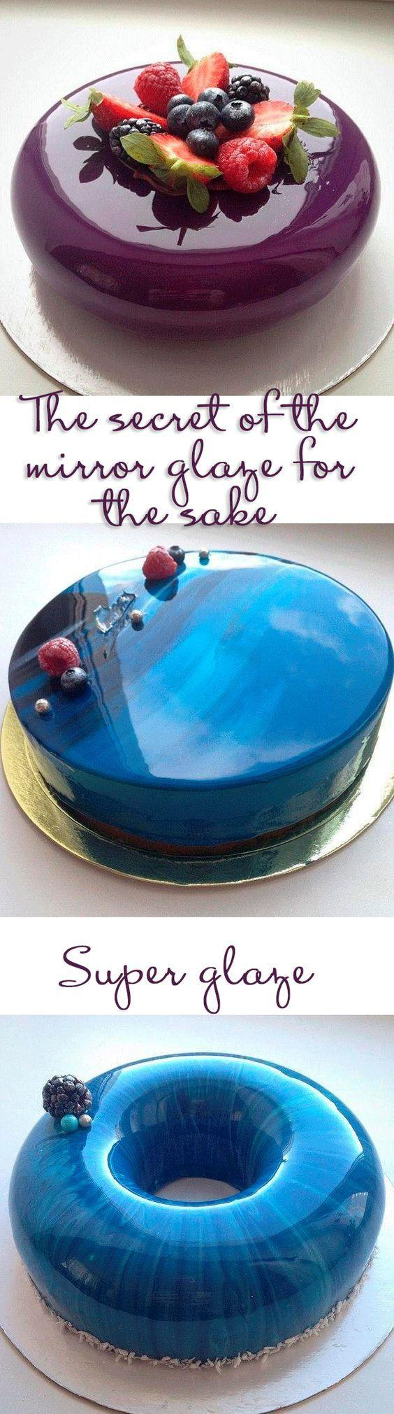 Свадьба - The Secret Of The Mirror Glaze For The Cake