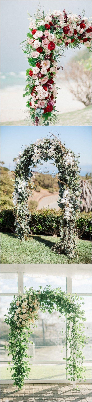 Wedding - 20 Prettiest Floral Wedding Arch Decoration Ideas - Page 2 Of 2