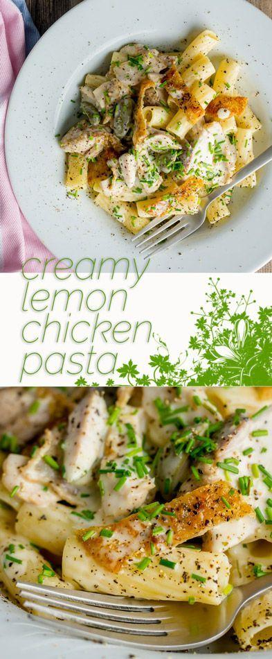 Свадьба - Creamy Lemon Chicken Pasta