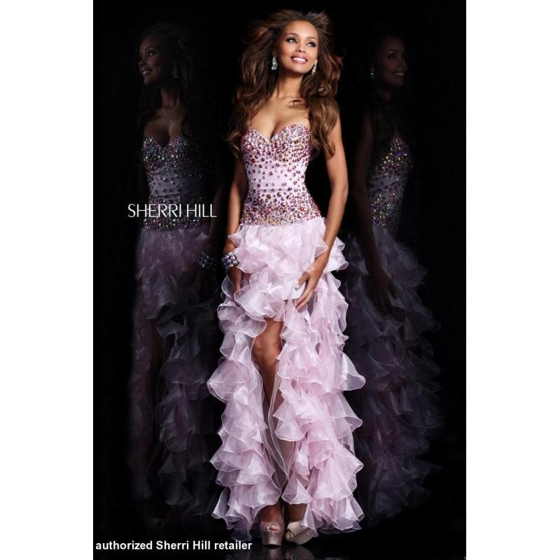 Hochzeit - Aqua Sherri Hill 21104 - Brand Wedding Store Online