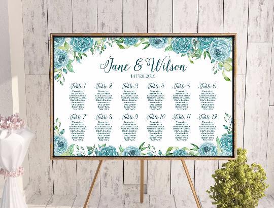 custom wedding seating chart free wedding seating charts 2804325