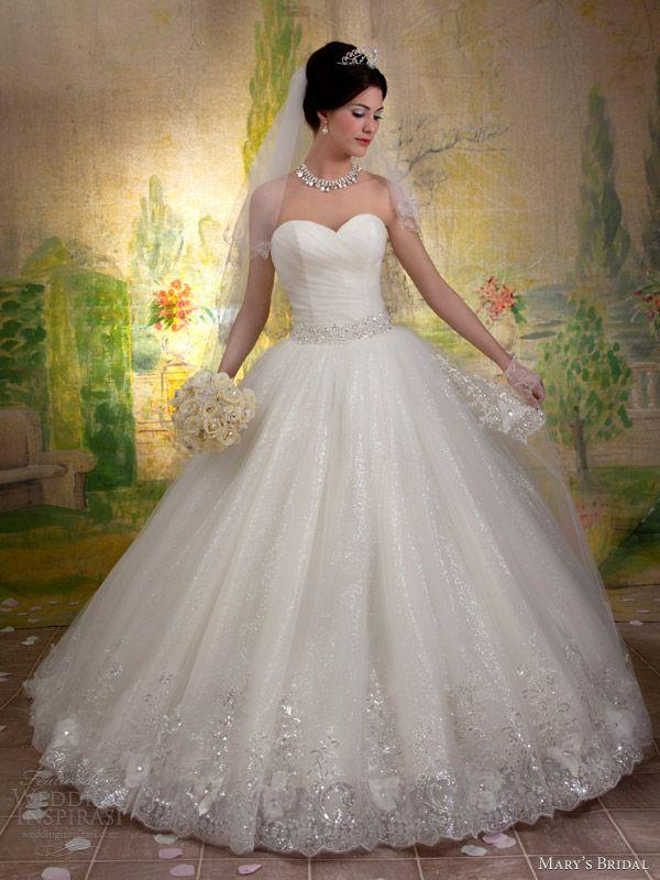 Mariage - Mary's Bridal Fall 2013 Wedding Dresses — Sponsor Highlight