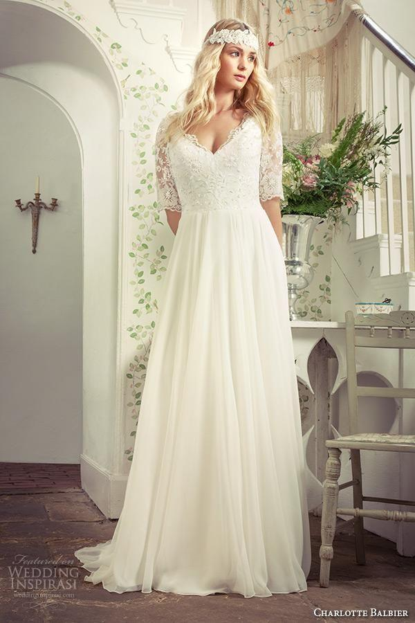 Plus Size Beach Wedding Dresses With Sleeves Maternity ...